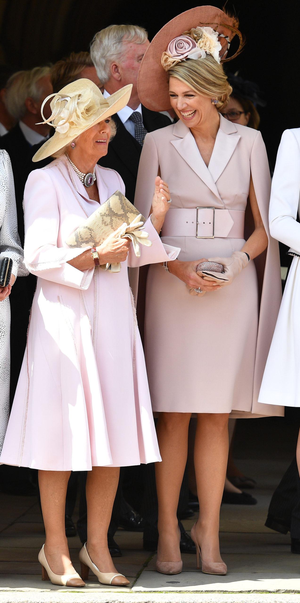Letizia e Kate: look a confronto