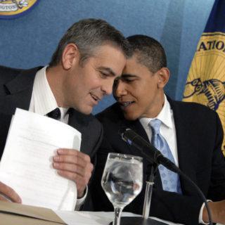 Gli Obama ospiti di George e Amal a Como, città blindata