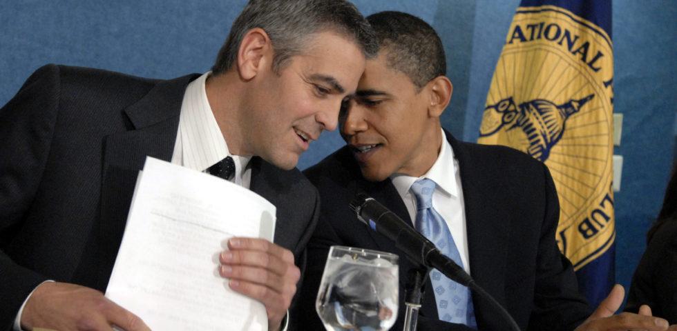 Barack e Michelle Obama ospiti di George Clooney e Amal: Laglio blindata