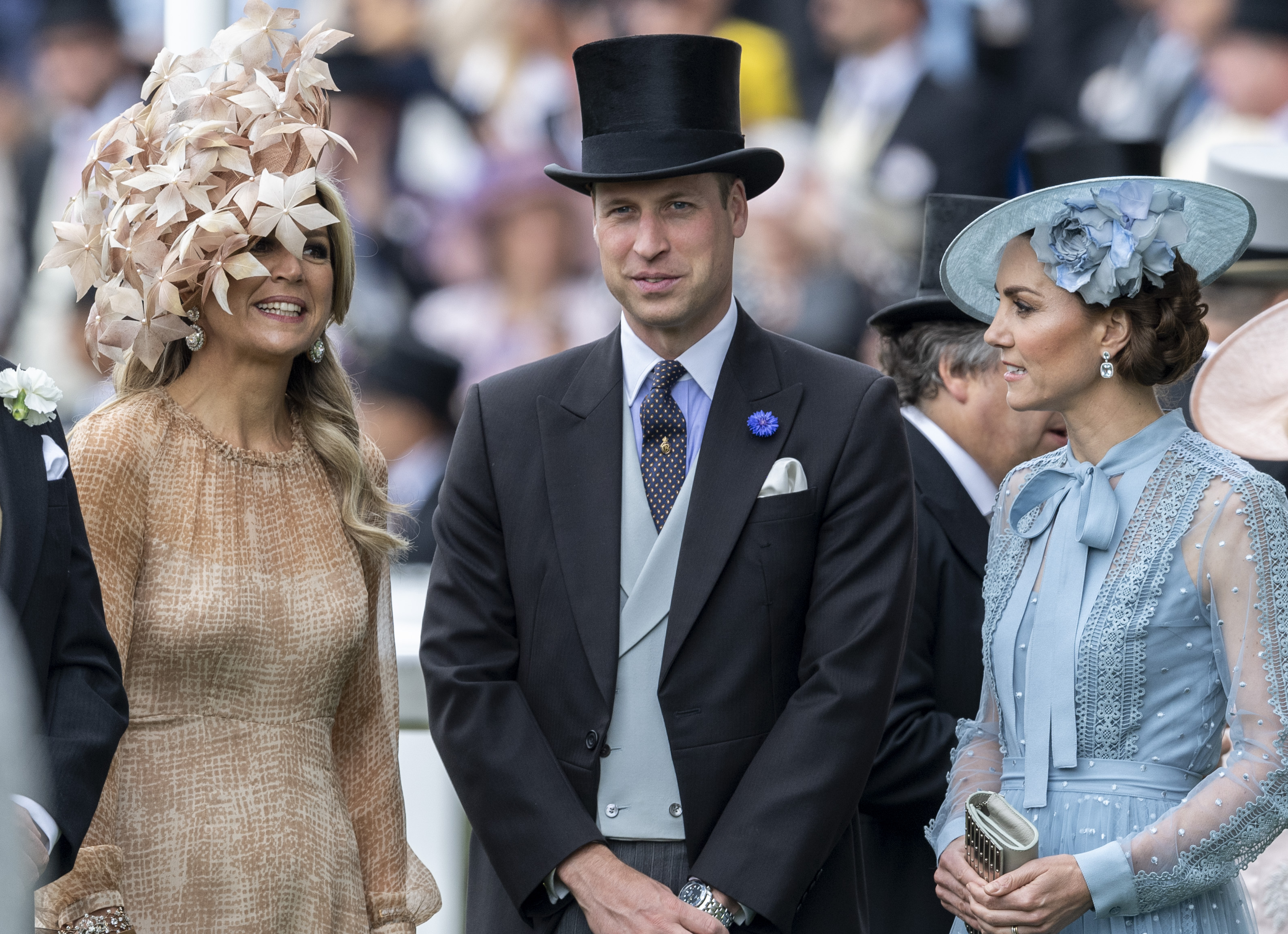 Kate floreale per il Royal Ascot