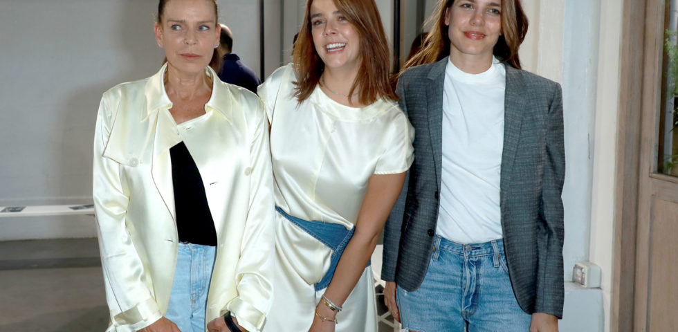 Pauline Ducruet, figlia di Stephanie di Monaco, alla Paris Fashion Week 2020