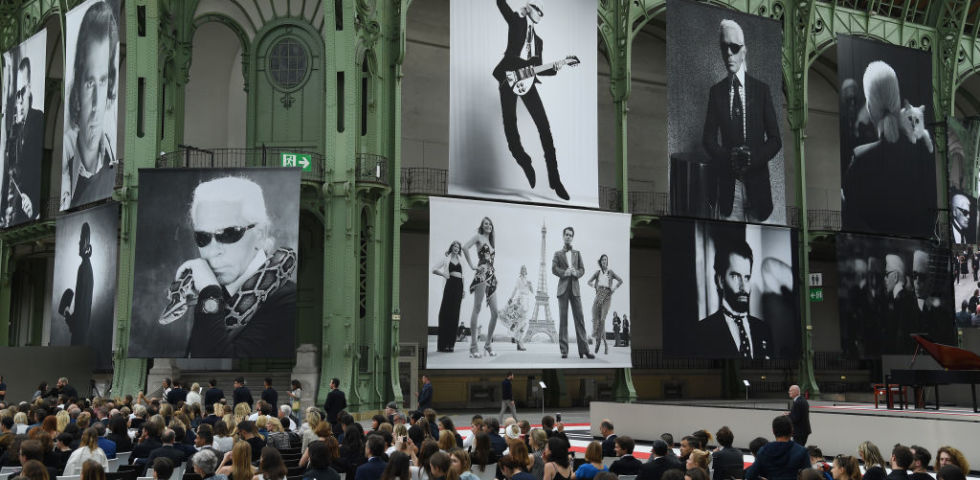 Karl for Ever: il memorial per Karl Lagerfeld al Grand Palais