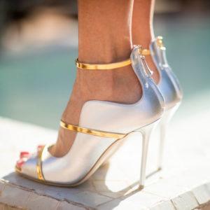 Trend Alert: scarpe da cerimonia argentate