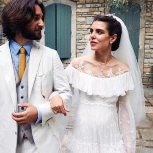 Charlotte e Dimitri di nuovo sposi!