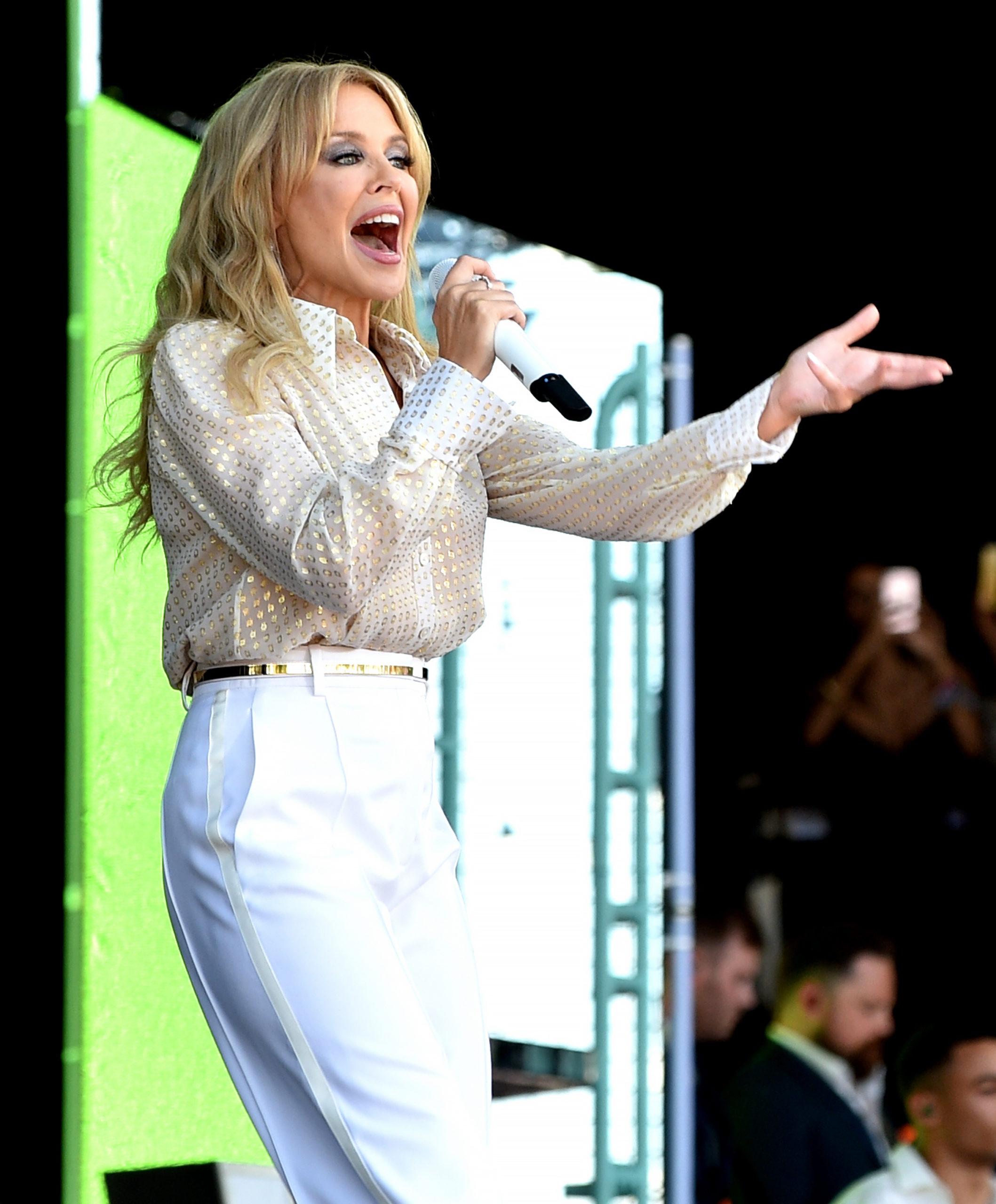 Kylie Minogue ricorda la malattia