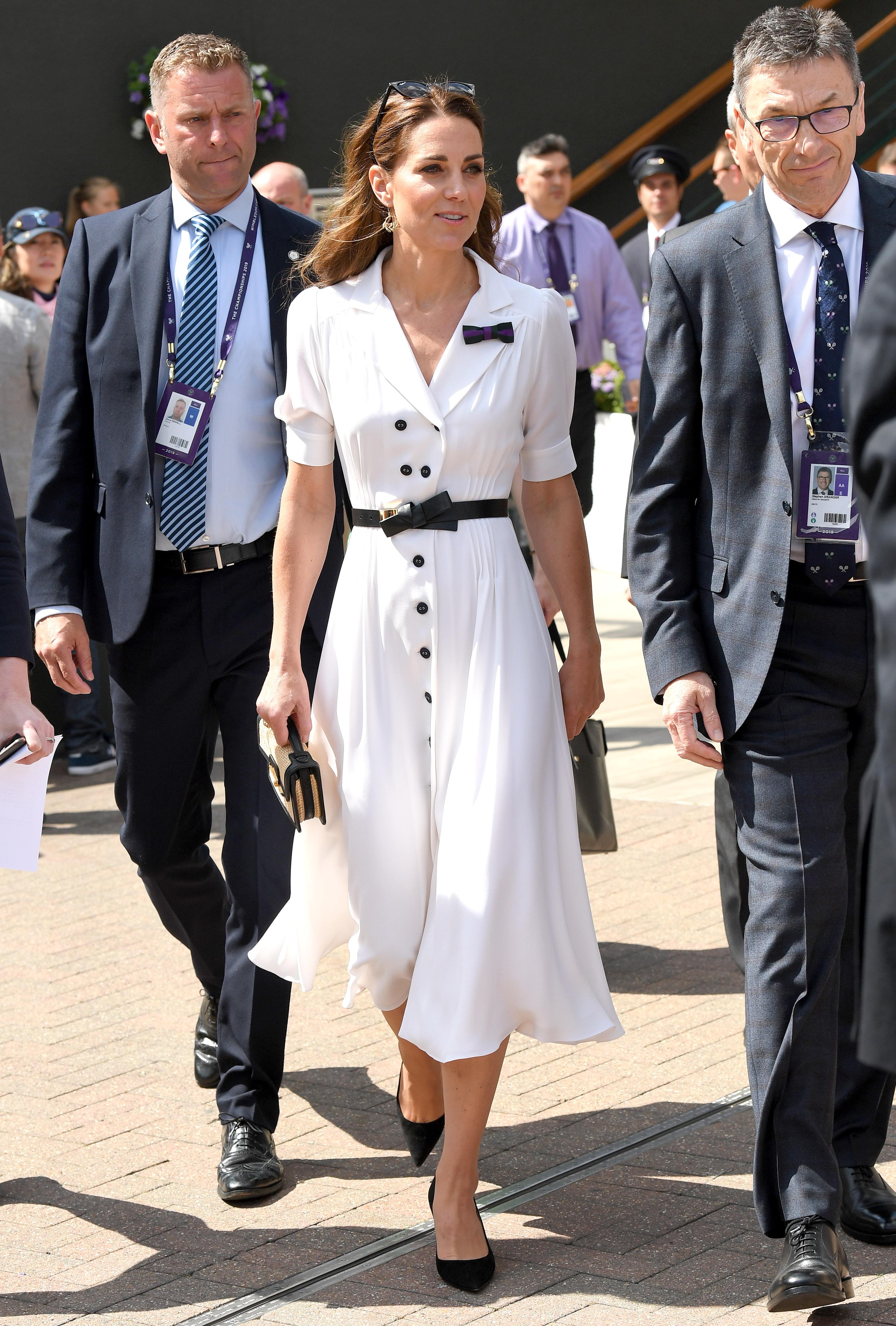 Il look di Kate a Wimbledon