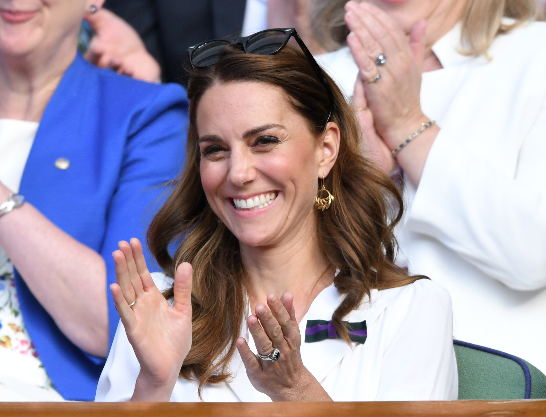 Il look di Kate a Wimbledon