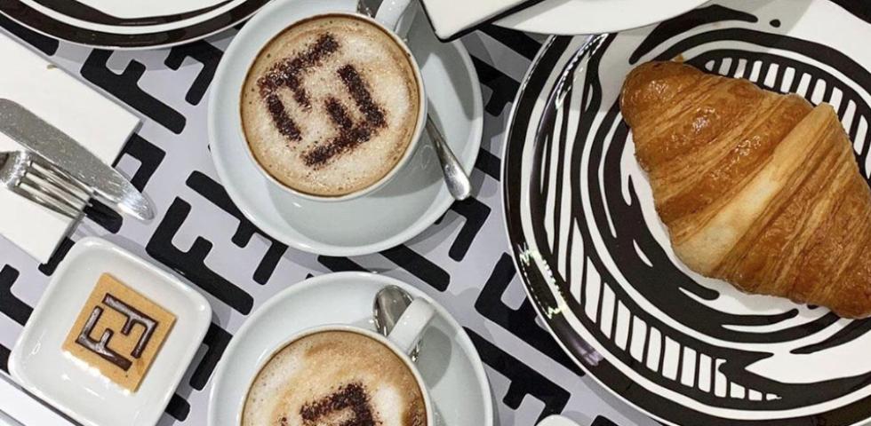 Il Fendi Café apre da Harrods a Londra