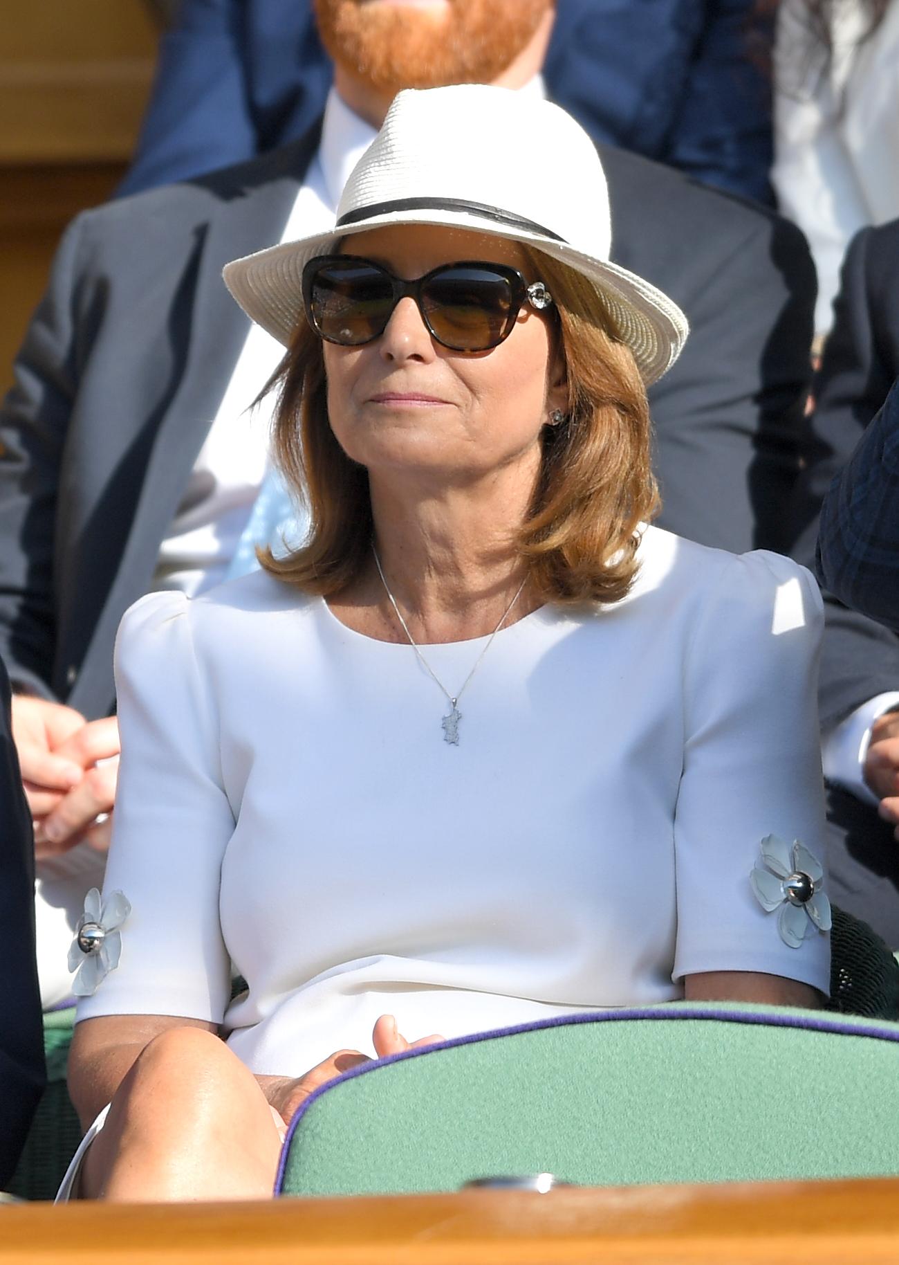 Il look di Meghan a Wimbledon