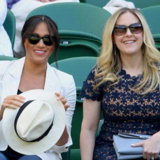Meghan Markle: in jeans a Wimbledon