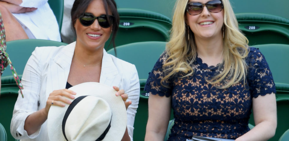 Meghan Markle in jeans a Wimbledon 2019 tra le polemiche