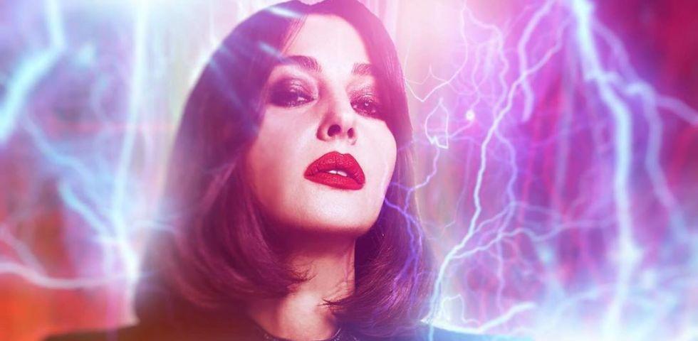 Monica Bellucci cambia taglio di capelli per il film Nekrotronic