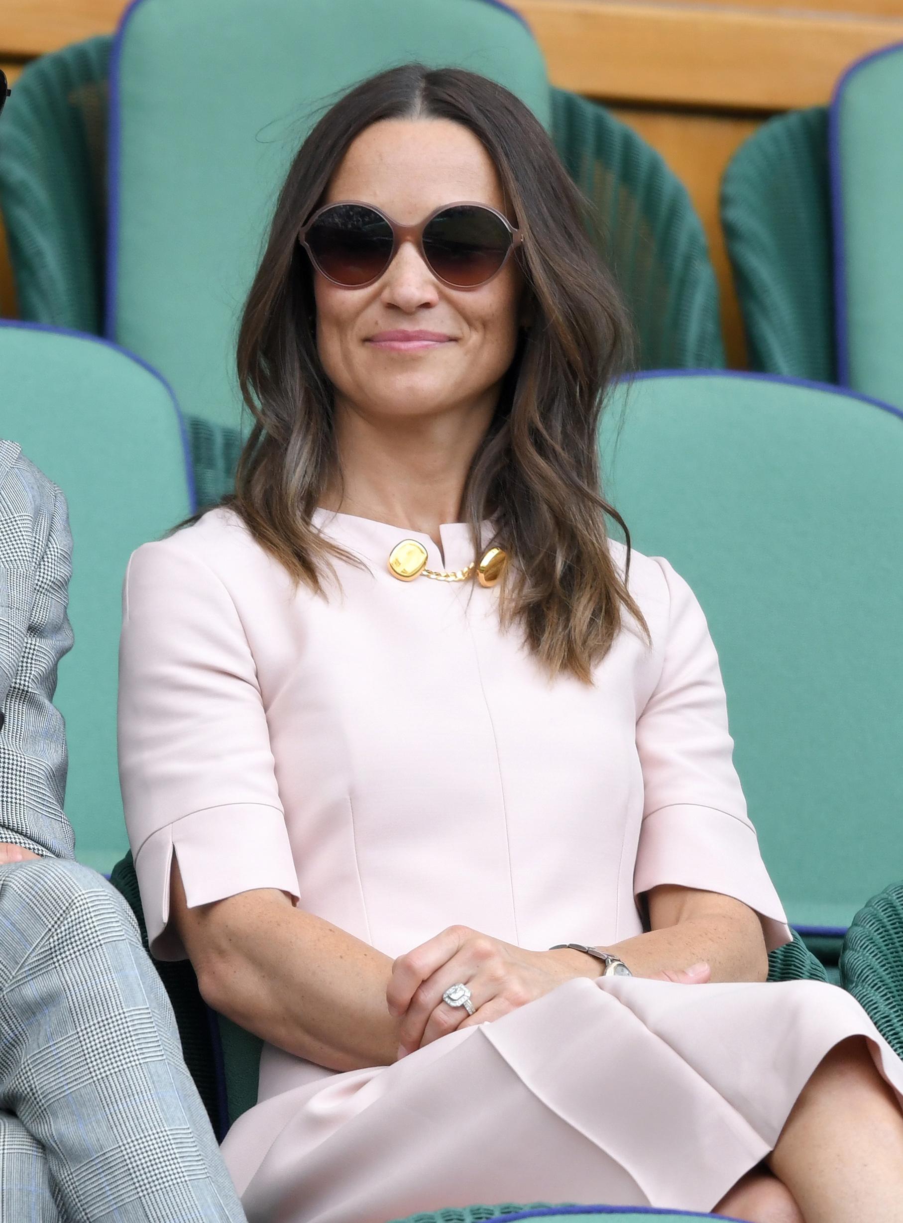 Pippa in Stella McCartney per Wimbledon