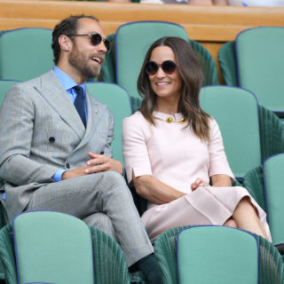 Pippa Middleton pink lady a Wimbledon