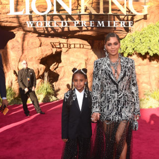 Beyoncé e Blue Ivy: look coordinati sul red carpet