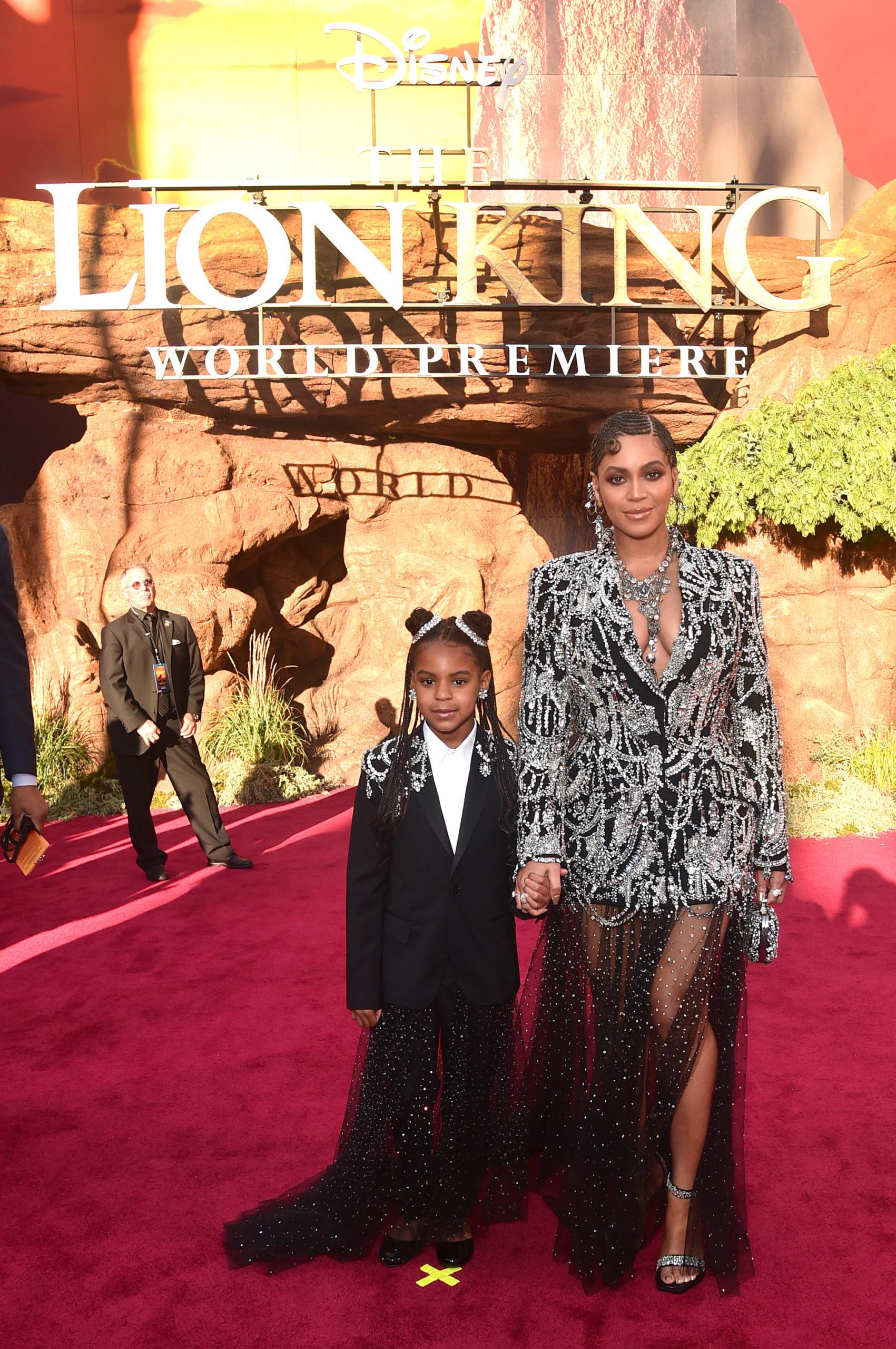 I look abbinati di Beyoncé e sua figlia