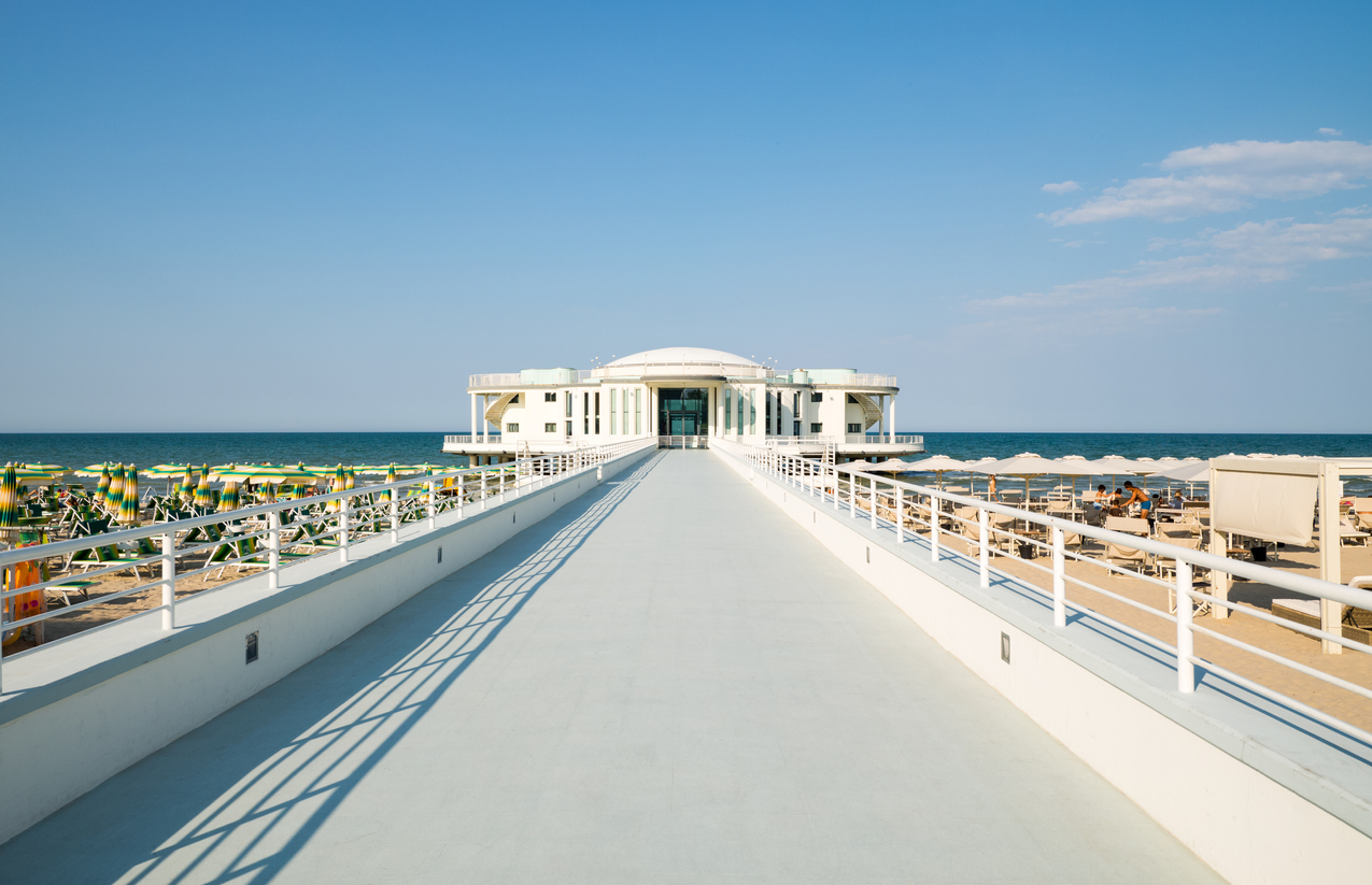 La spiaggia di Senigallia