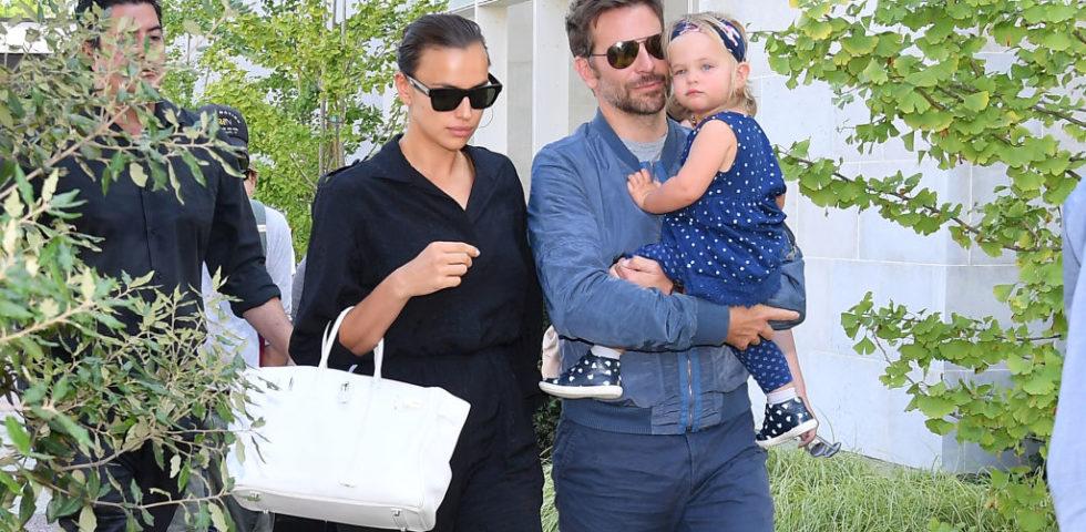 Bradley Cooper e Irina Shayk insieme a pranzo con la figlia Lea