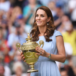 Kate premia Djokovic a Wimbledon