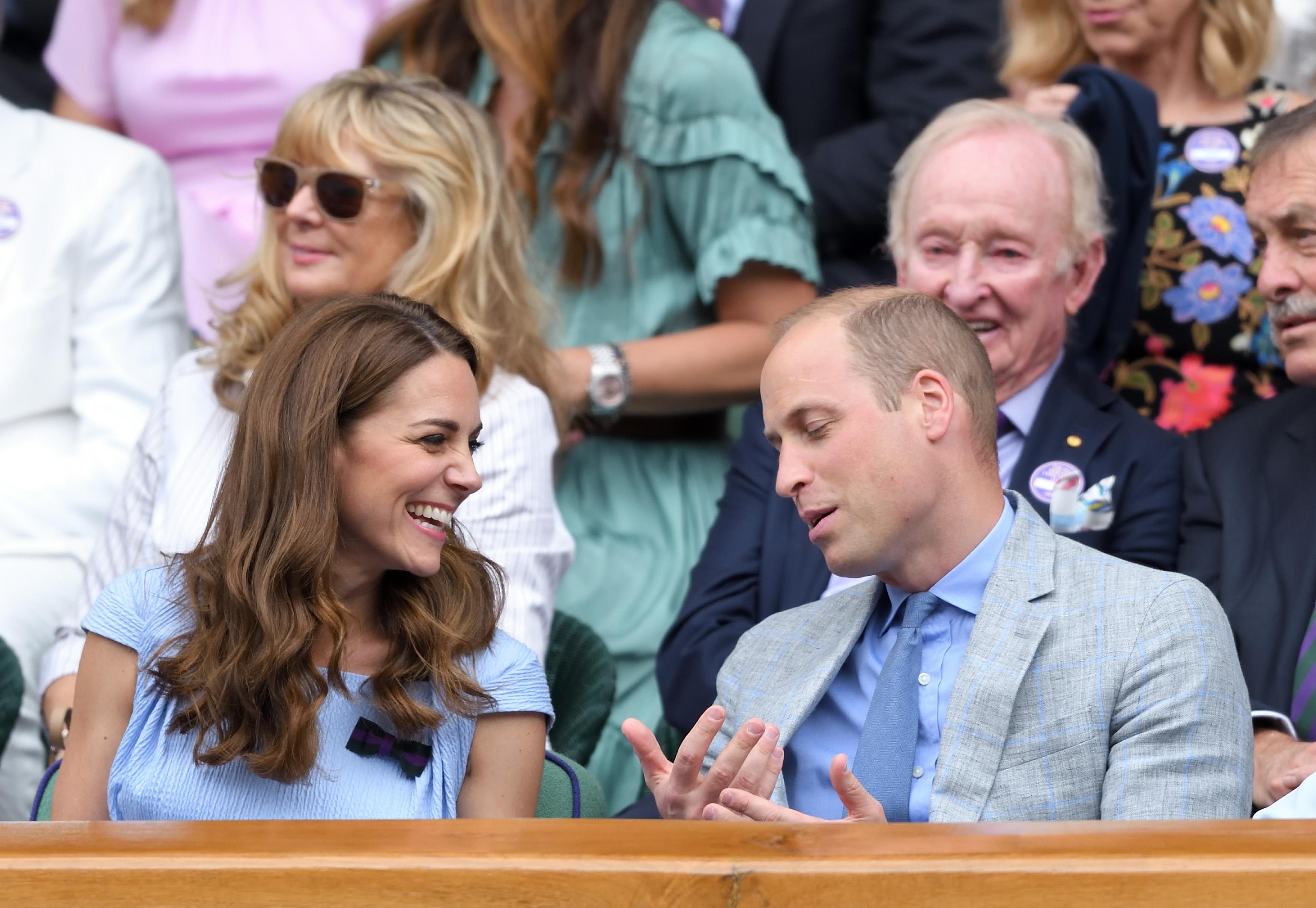 Kate Middleton alla finale maschile di Wimbledon