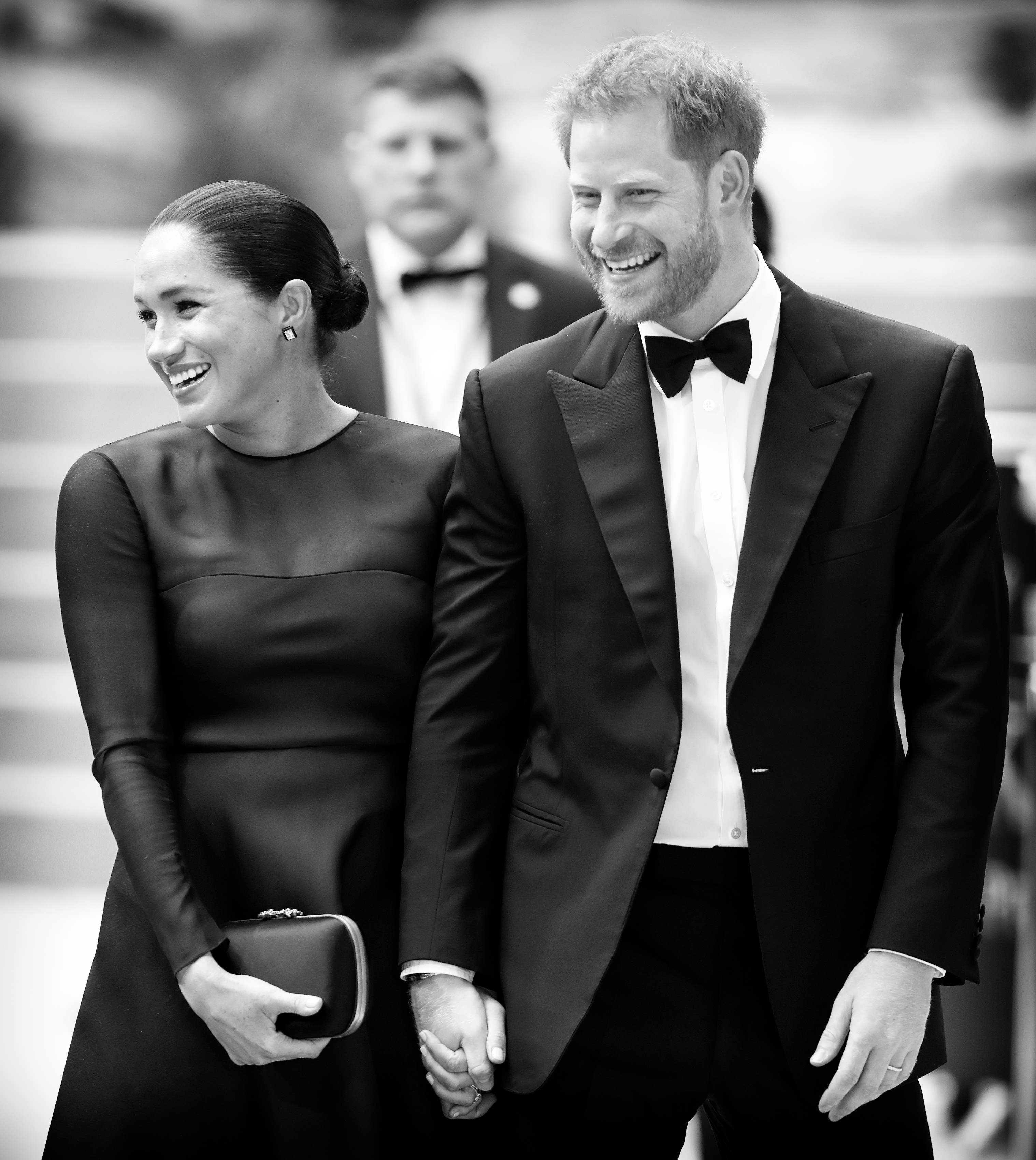 Meghan e Harry alla prima del Re Leone