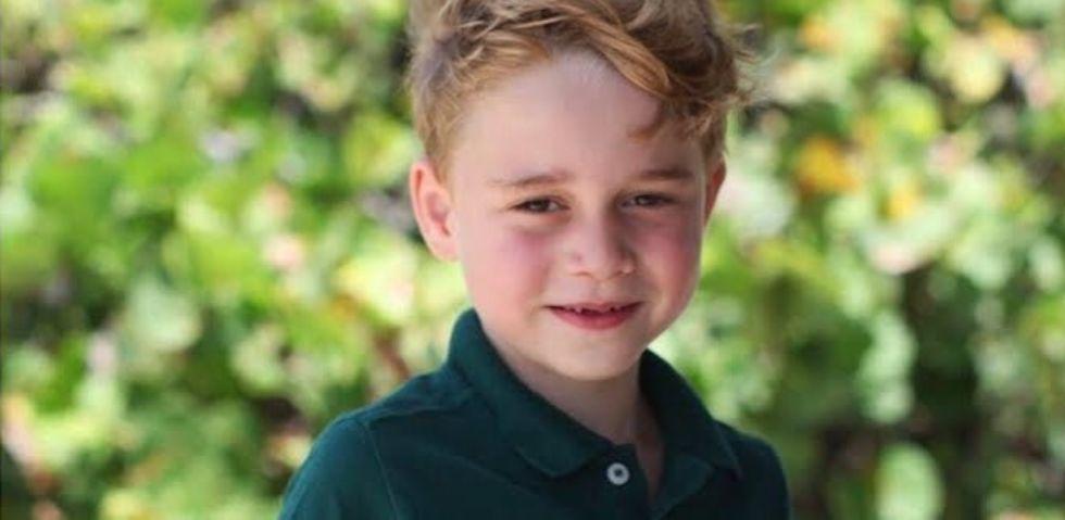 Il Principe George compie 6 anni: le foto scattate da Kate Middleton