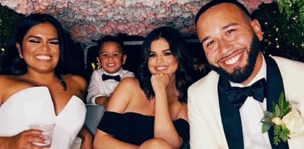Selena Gomez perfetta damigella d'onore per il matrimonio della cugina
