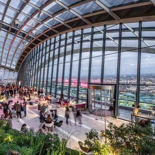Globetrotter: i rooftop più spettacolari di Londra
