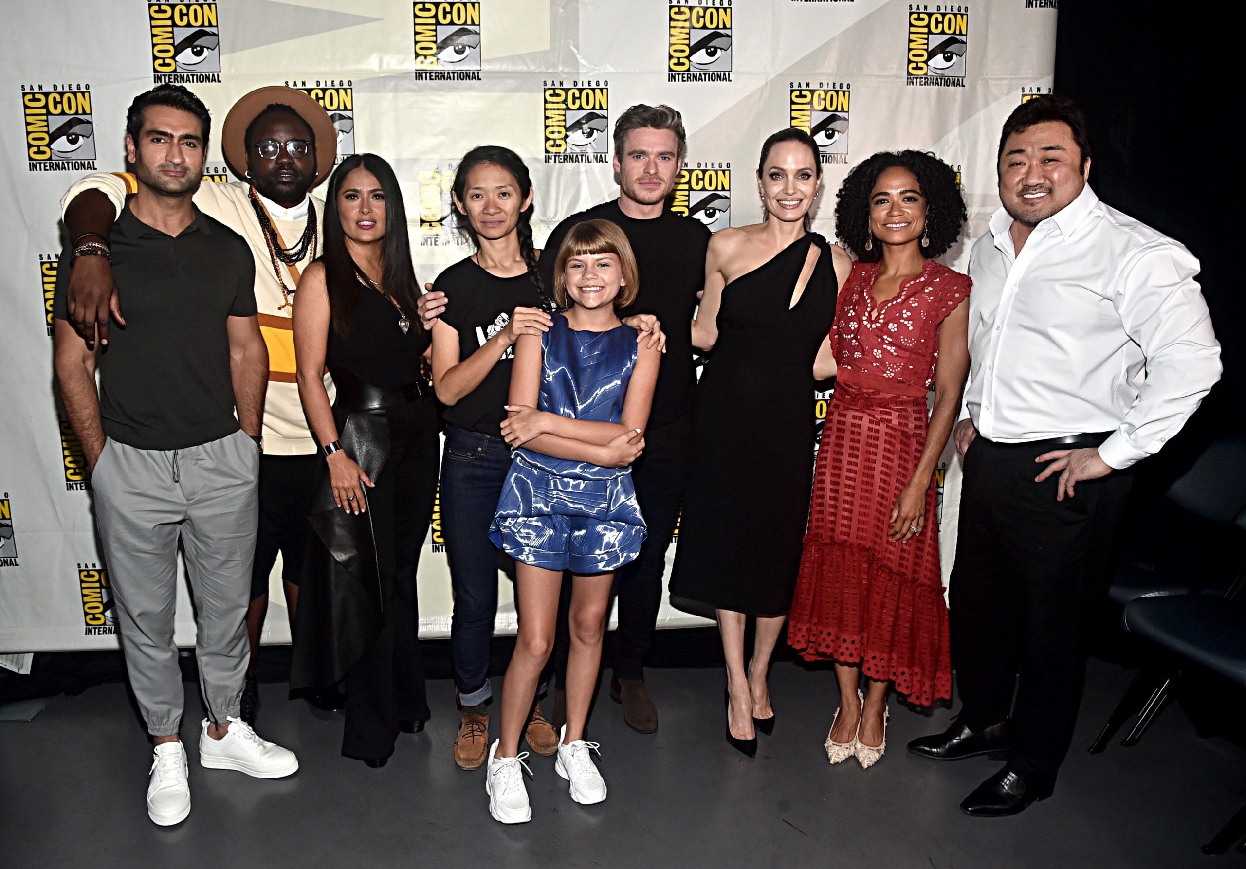 Angelina nel nuovo film Marvel