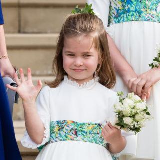 La Principessa Charlotte pronta al primo giorno di scuola