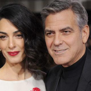 Allagata la villa inglese di Amal e George Clooney