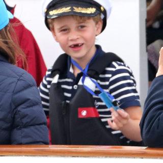 Kate Middleton svela a George che sarà Re