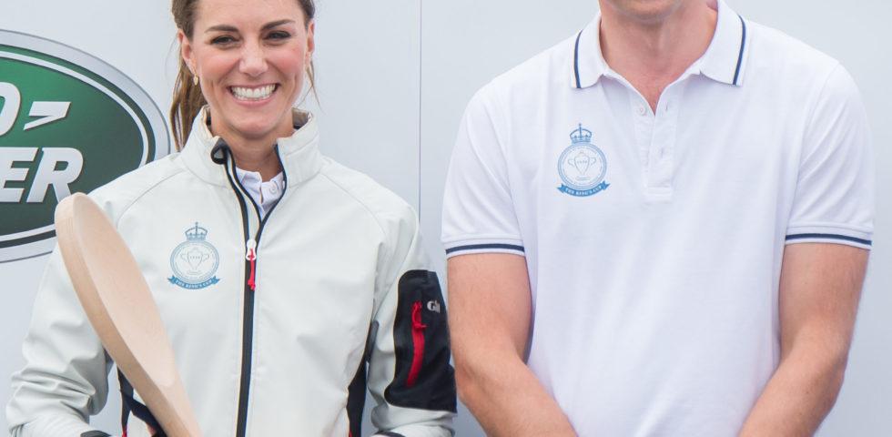 Kate Middleton e il Principe William: regata di famiglia con George e Charlotte