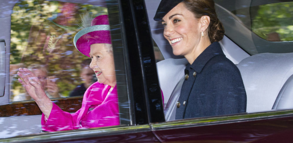 Kate Middleton e il Principe William: weekend con la Regina Elisabetta