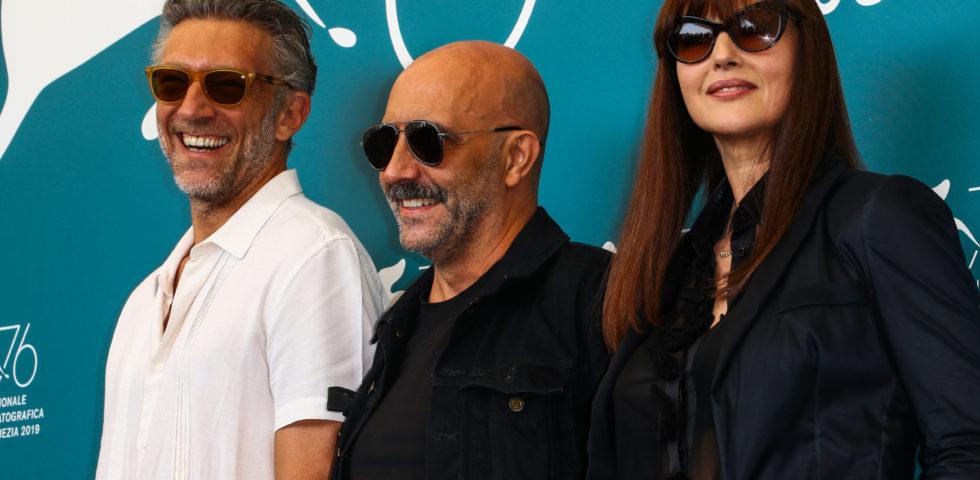 Monica Bellucci e Vincent Cassel a Venezia 76 tra frecciate e qualche ironia