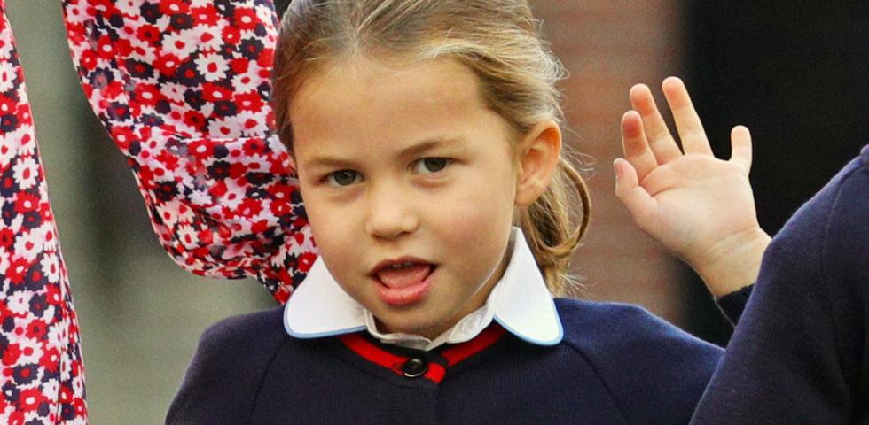 Il primo giorno di scuola della principessa Charlotte