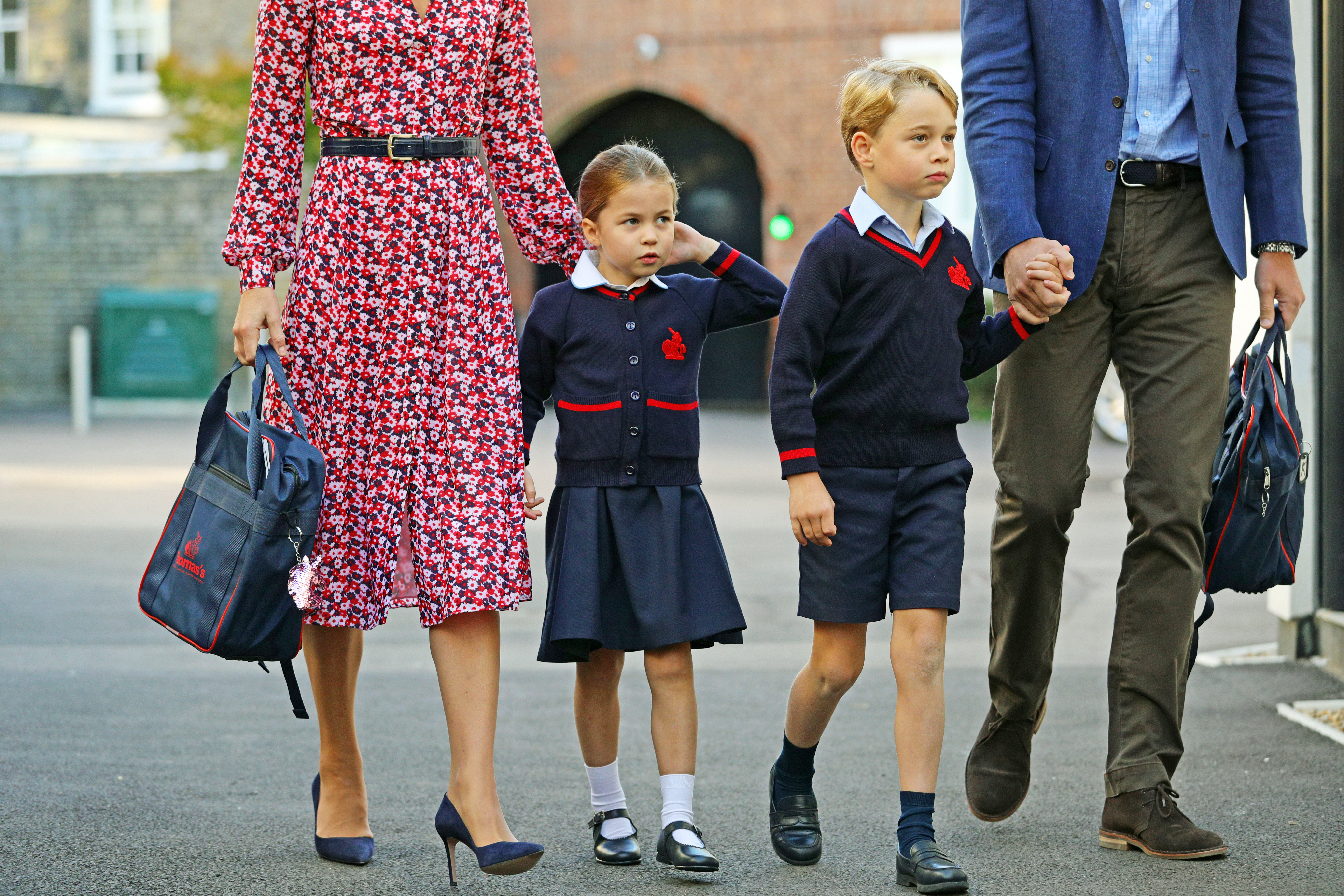 Charlotte va a scuola
