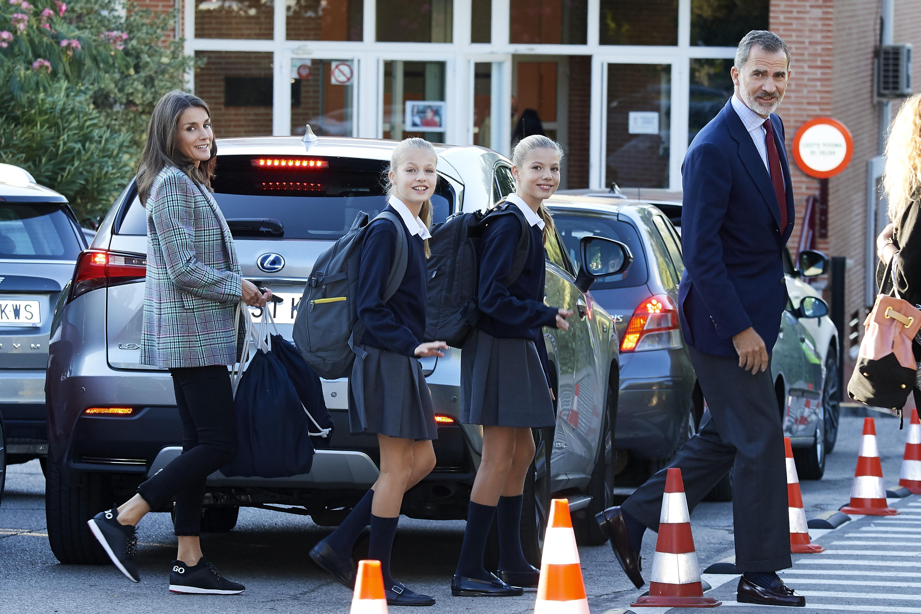 Le Principesse di Spagna tornano a scuola