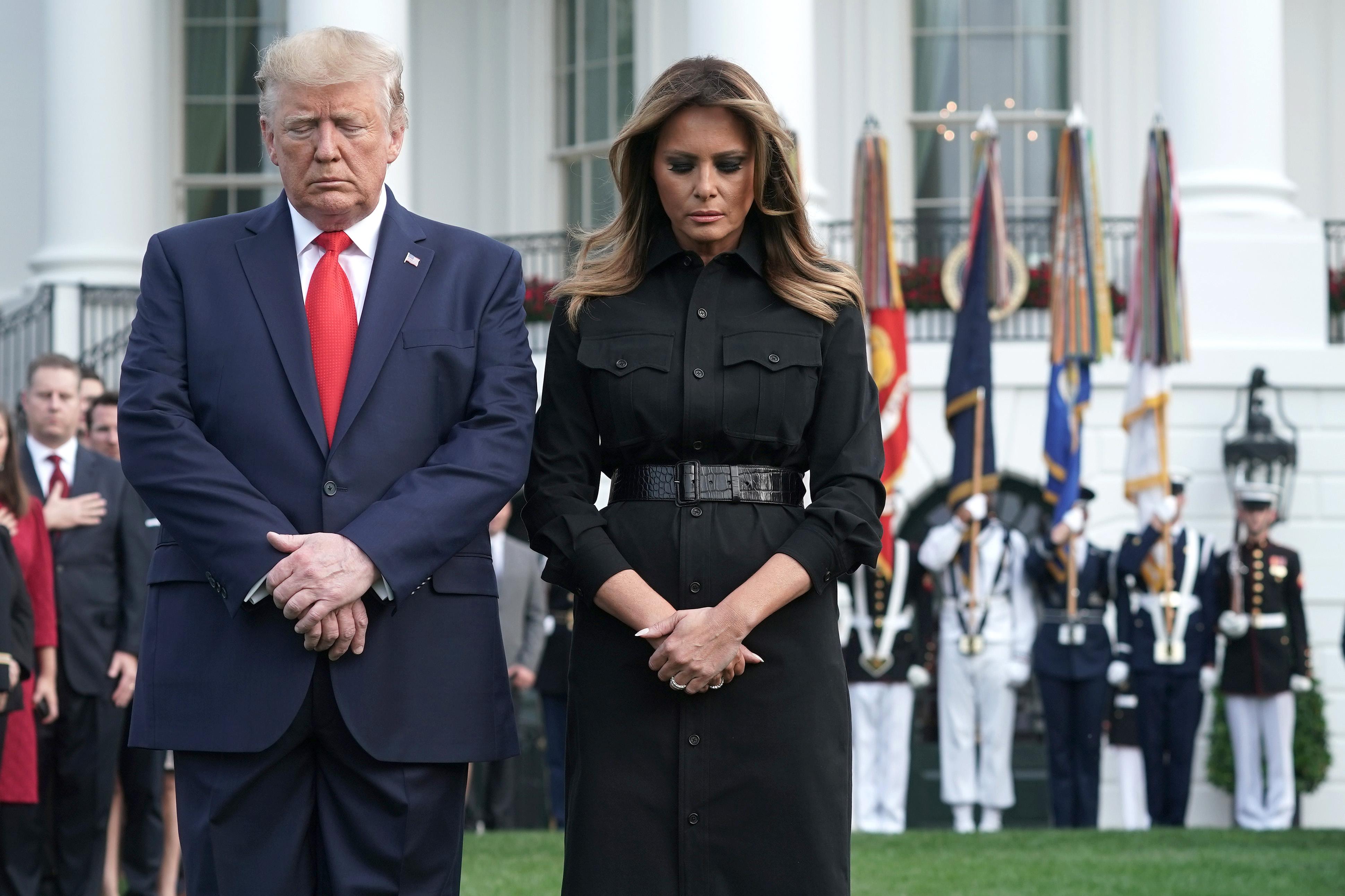 Cappotto sotto accusa per Melania Trump