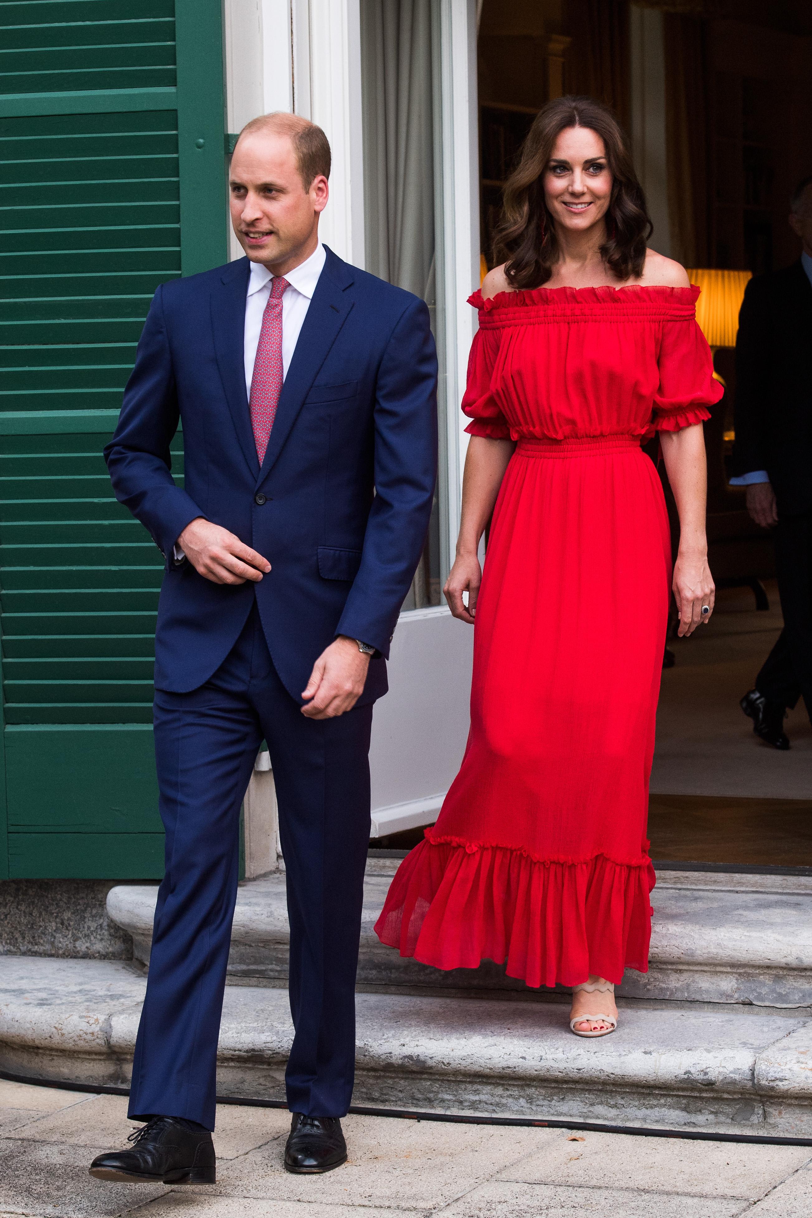 Letizia e Kate look a confronto