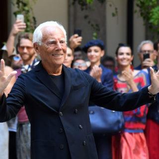 Giorgio Armani: passerella a porte chiuse