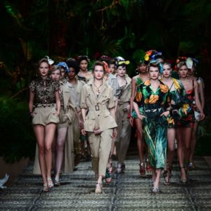 La giungla urbana e selvaggia di Dolce & Gabbana