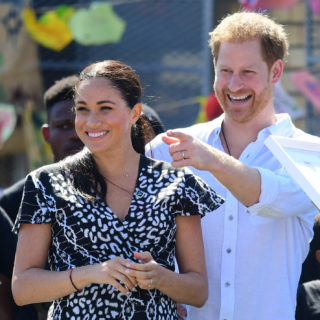 Meghan e Harry: primo giorno in Africa
