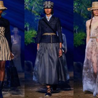Dior, fuga green per Maria Grazia Chiuri