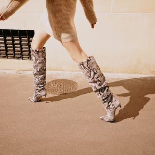 Fashion alert: stivali di pitone per ogni budget