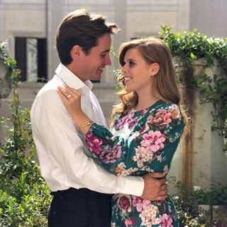 Beatrice di York ed Edoardo Mapelli Mozzi sposi nel 2020