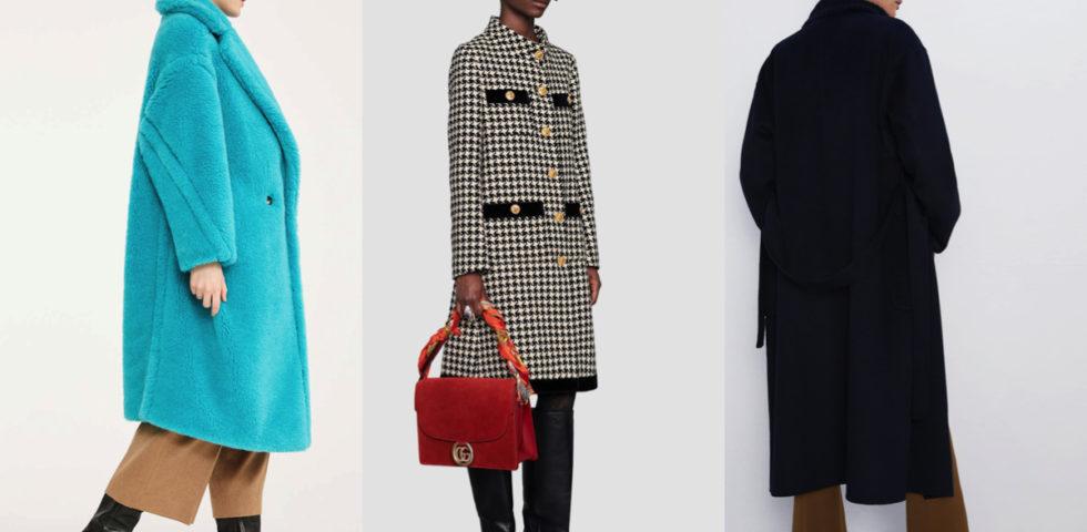 I cappotti della moda Autunno-Inverno 2019/2020