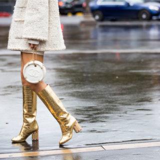 Fashion Tip: come abbinare le scarpe con il tacco largo