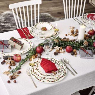 Le stoviglie più belle per la tavola di Natale