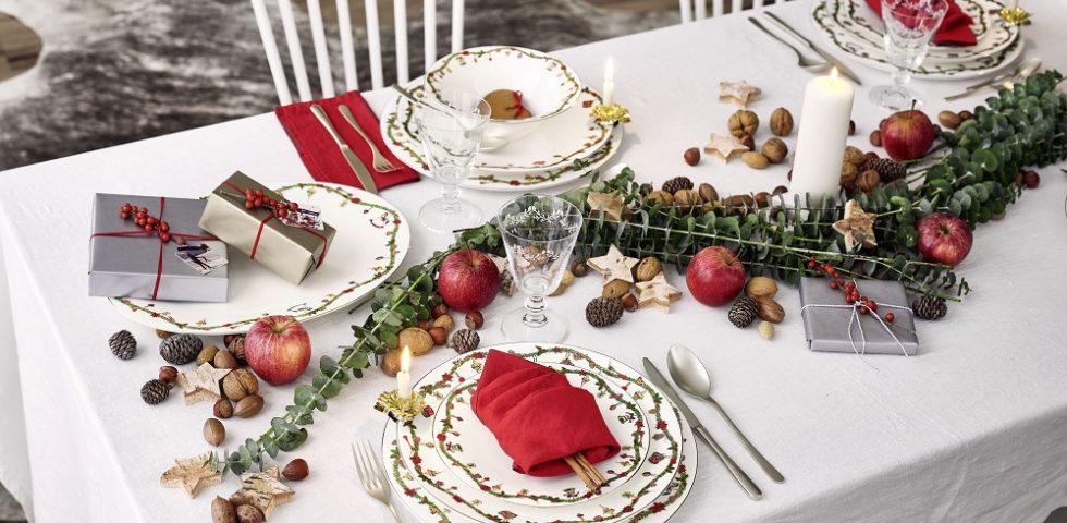 Piatti di Natale: le stoviglie più belle per la tavola